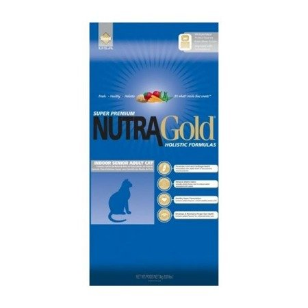 NUTRA GOLD Indoor Senior Cat 1kg